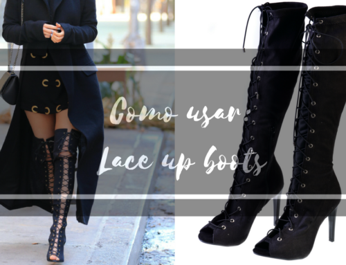 Como usar: Lace Up Boots