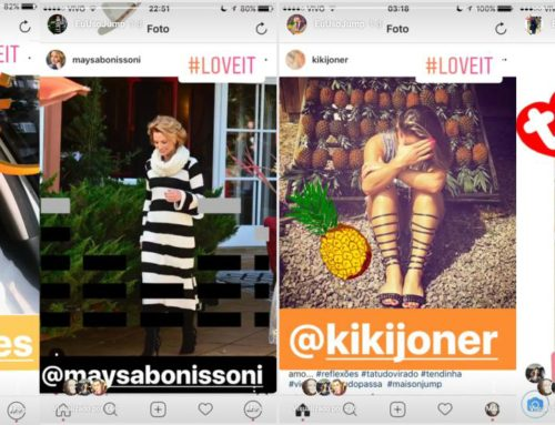 Rolou a maior campanha no Instagram de JUMP neste carnaval